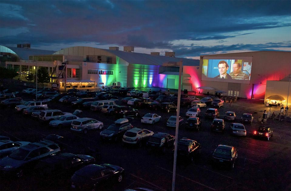Photo of Expo drive-in movies from a prior year